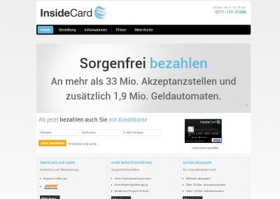 insideCard Prepaid Kreditkarte